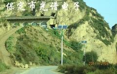 陝西新農村太陽能路燈