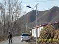 最大的太陽能路燈工程