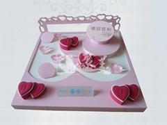 珠寶首飾包裝珠寶展示道具3