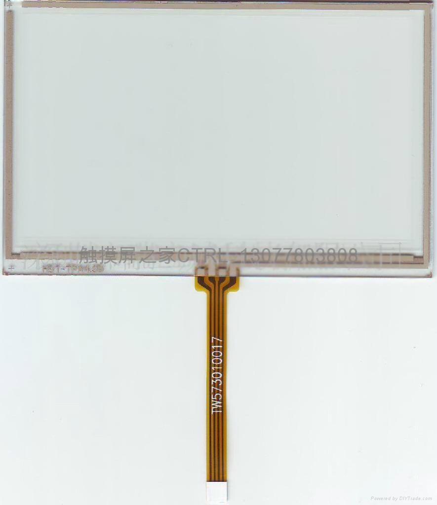 工厂供应5.2寸电阻式触摸屏 1