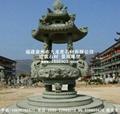 寺廟石雕香爐