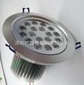 LED18X1W天花燈