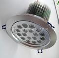 LED18X1W天花燈 2