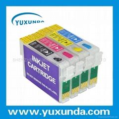 EPSON无海绵可填充墨盒(3代)T11 T13 T21 T40W TX210 TX300F T26 T23 TX115