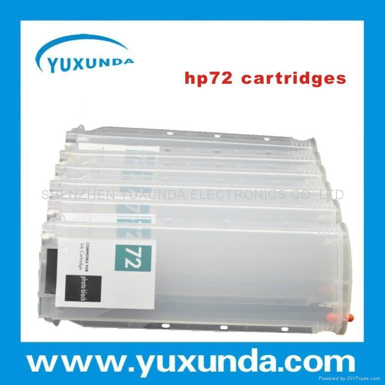 T610/T1100/T1120 (HP72)  填充墨盒 1