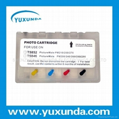 EPSON Picturemate 210 250 260  Refillable Cartridge