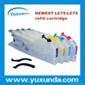 Refillable Cartridge for LC75 LC79 LC1240 LC1280