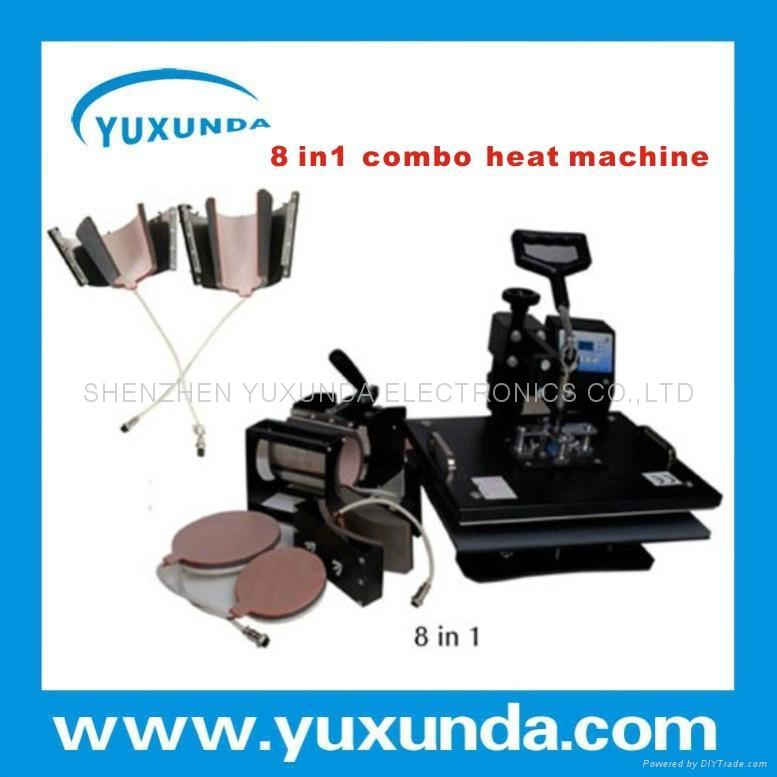 多功能8合1热转印机器 6