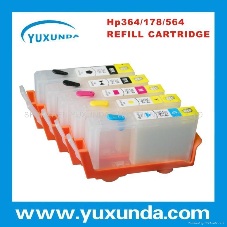 填充墨盒HP D5460 C6383 HP564 HP364 2