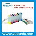 NEW Item ! kit ink CISS for R2000 with connected chip