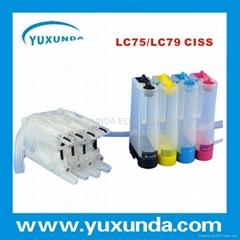 連續供墨系統LC79/LC75/LC1240/LC1280/LC77