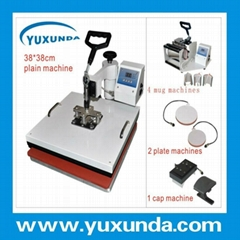 High quality multifunctional 38*38cm 8 in 1 heat press transfer machine (Hot Product - 1*)