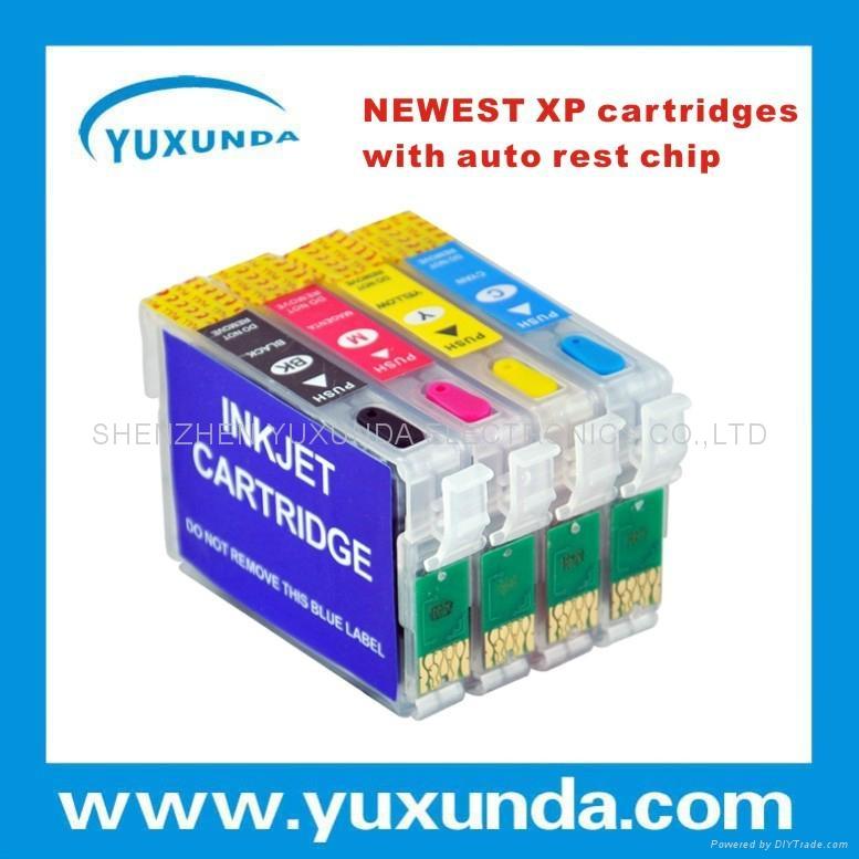 亚洲地区XP102/202/302/402/ME401/303/10/101填充墨盒带永久芯片 1