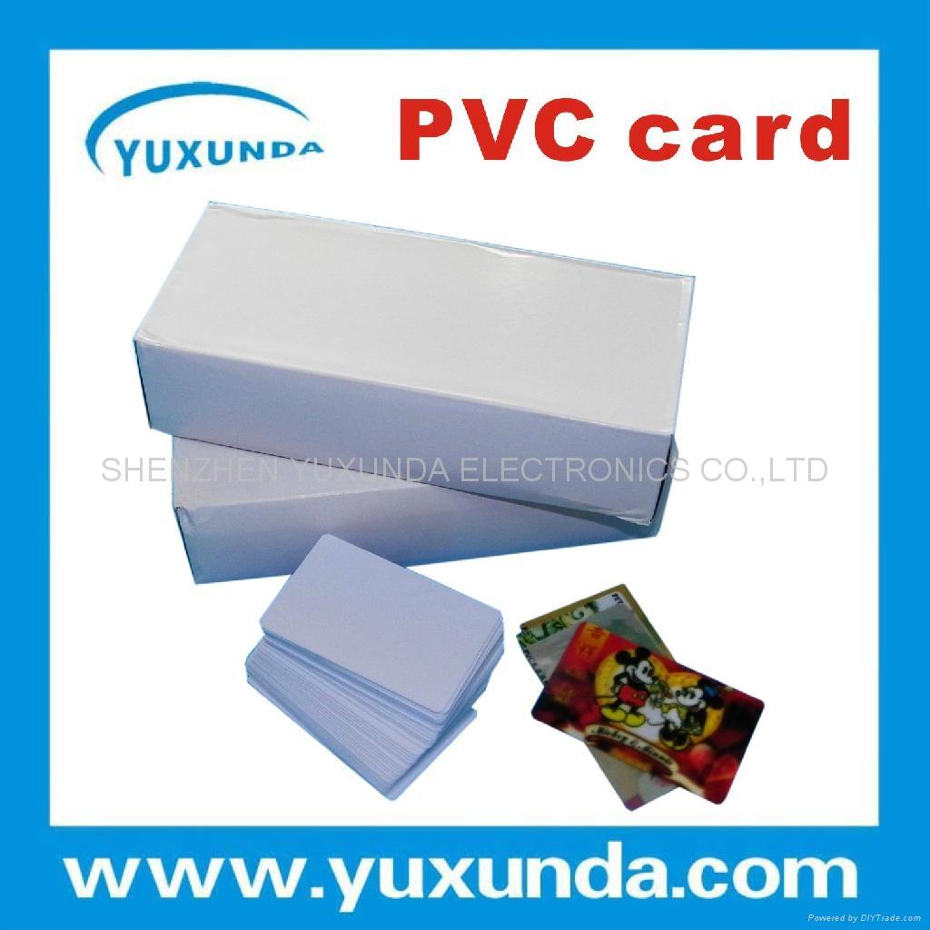 免层压PVC卡 1