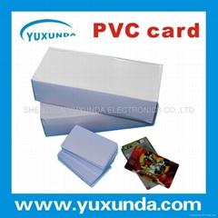 免层压PVC卡