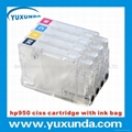 newest transparent 950/951/933/932 ciss cartridge wih chips for hp8600/8100/6100