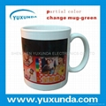 partial Color change Mug