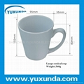 white mug for heat transfer