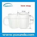 lovers  mug for heat transfer