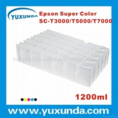 T3000/5000/7000 1200ml 大供墨盒(适用于欧洲,北美,拉丁美洲等地区)
