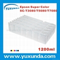 newest 1200ml cartridge for Super color T3080/T5080/T7080 Asia except Japan
