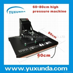 60*80 t-shirt heat transfer press sublimation machine