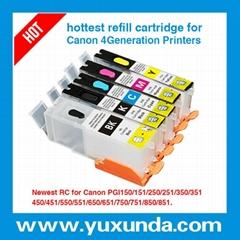 填充墨盒PGI450/CLI451, Pixma IP7240/MG5440/MX724/MX924/MG6340