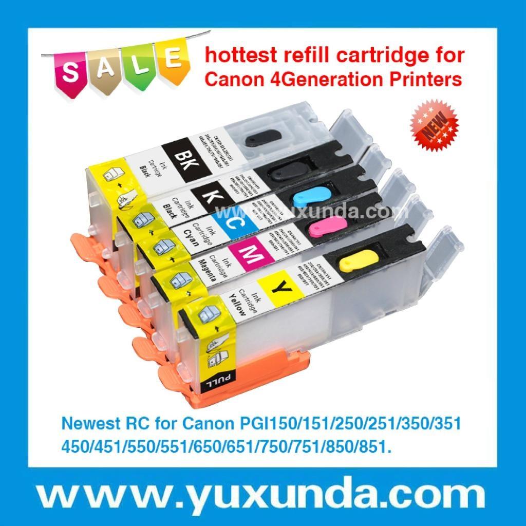 填充墨盒PGI550/CLI551, Pixma IP7250/MG5450/MX725/MX925/MG6350 1