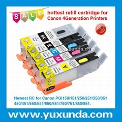 填充墨盒PGI550/CLI551, Pixma IP7250/MG5450/MX725/MX925/MG6350