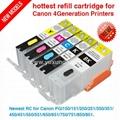 填充墨盒PGI550/CLI551, Pixma IP7250/MG5450/MX725/MX925/MG6350 2