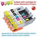newest RC for Canon PGI550/CLI551, Pixma IP7250/MG5450/MX725/MX925/MG6350