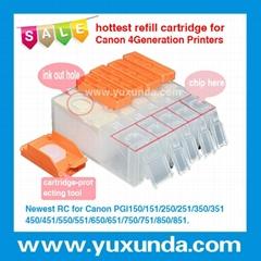 填充墨盒PGI650/CLI651, Pixma IP7260/MG5460/MX726/MX926/MG6360