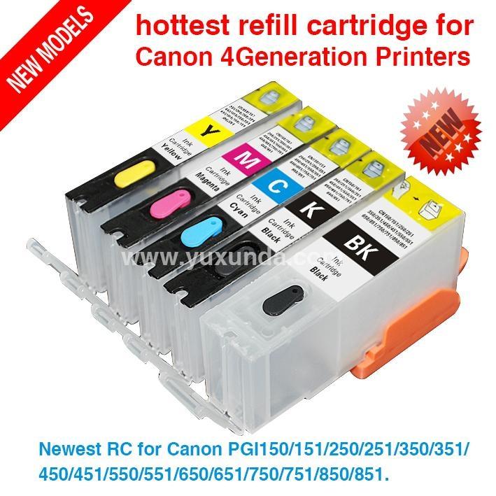 填充墨盒PGI650/CLI651, Pixma IP7260/MG5460/MX726/MX926/MG6360 2