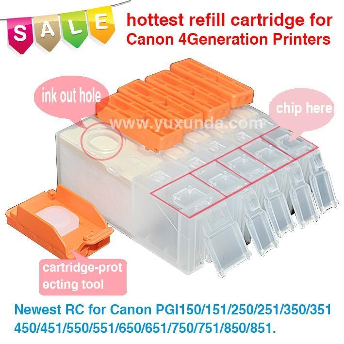 填充墨盒PGI650/CLI651, Pixma IP7260/MG5460/MX726/MX926/MG6360 4