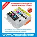 newest RC for Canon PGI850/CLI851, Pixma IP7280/MG5480/MX728/MX928/MG6380