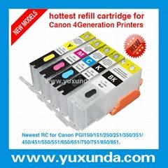 填充墨盒PGI850/CLI851, Pixma IP7280/MG5480/MX728/MX928/MG6380