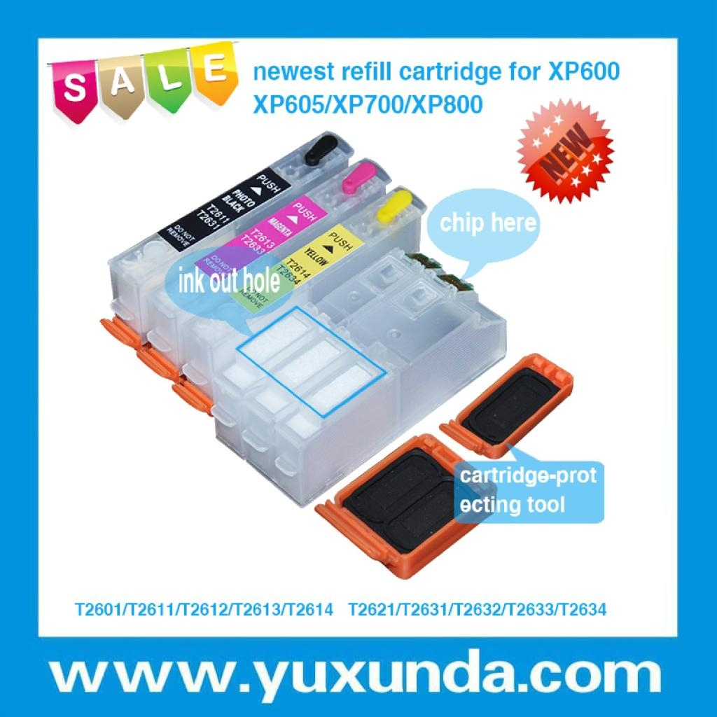 XP600/XP605/XP700/XP800 填充墨盒带芯片 1