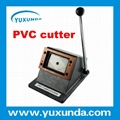 Top Guality Manuel Easy Operate PVC card cutter/cutting machine
