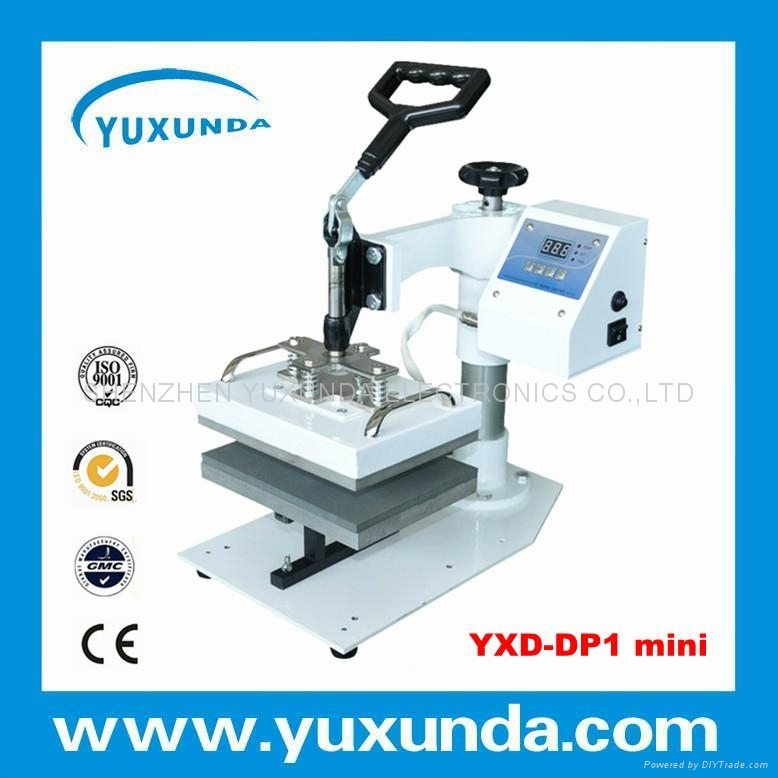 Cost Saving 15*20cm smaller size swing away plain press machine  3