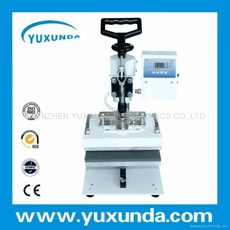 Cost Saving 15*20cm smaller size swing away plain press machine  4