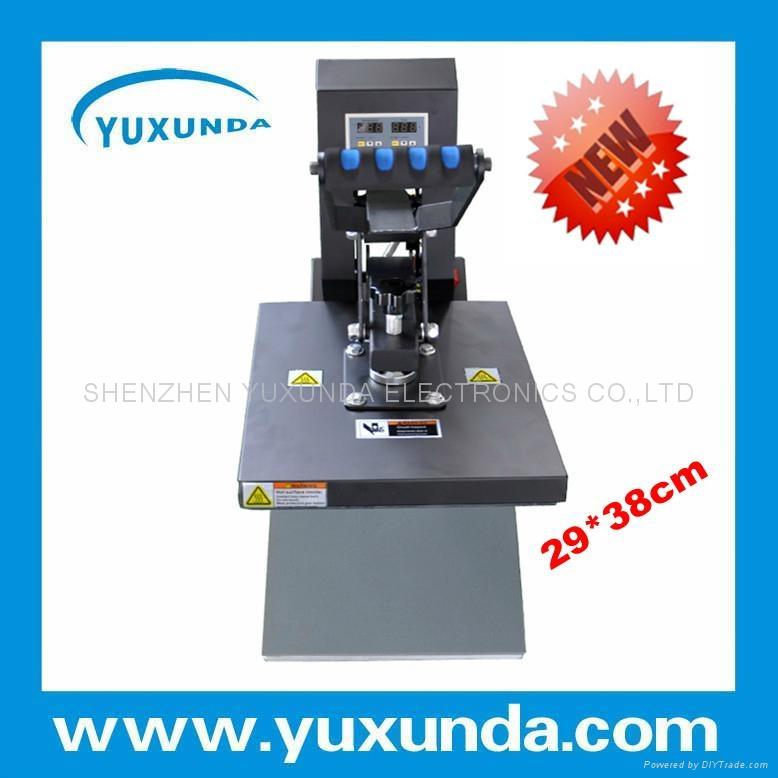 YXD-G5(B) 29*38cm high pressure t shirt printing machine 4
