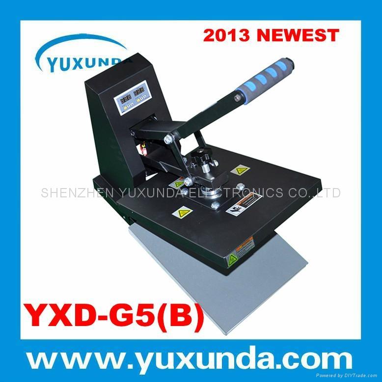 YXD-G5(B) 29*38cm high pressure t shirt printing machine 5