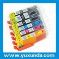 refillable ink cartridge for Canon PGI250/CLI251 for IP7220,MG5420,MG6320,MX722