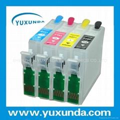 Refillable cartridge for Epson XP211