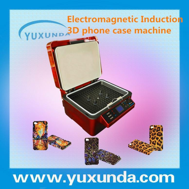 3D sublimation vacuum heat press machine,3d heat transfer machine for cell phone