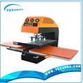 Pneumatic dual-working place heat transfer machine