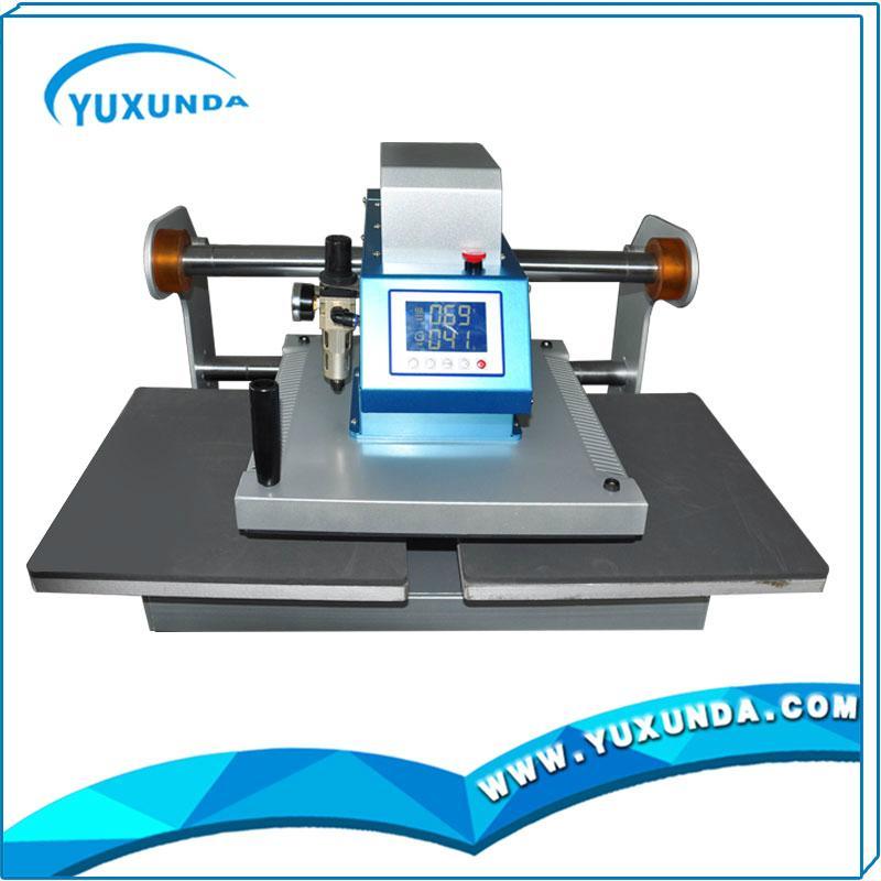 Pneumatic two worktable digital heat press machine for t-shirt 11