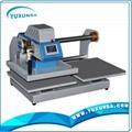 Pneumatic two worktable digital heat press machine for t-shirt 10