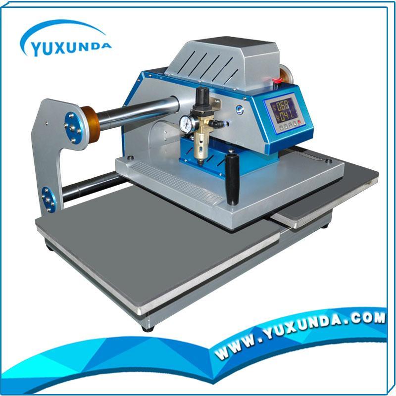 雙工位豪華氣動平燙機YXD-ZZS404/405 7
