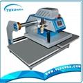 Pneumatic two worktable digital heat press machine for t-shirt 7